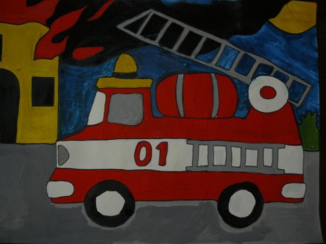 Рисование пожарной машины в подготовительной группе достаточно открытый